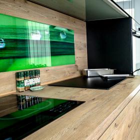 Kuchnia nowoczesna – panel ze szkła z grafiką